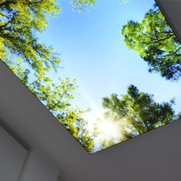 Luminatore-Deckenbild-Behandlungszimmer