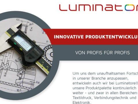 Innovative Produktentwicklungen von Profis für Profis.
