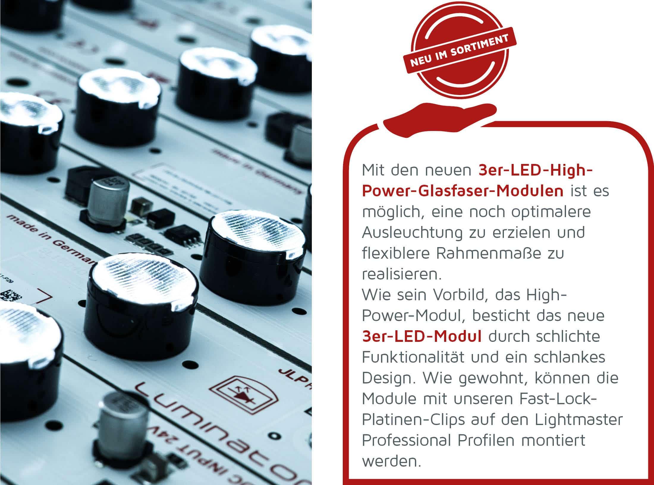 3er-LED-Module
