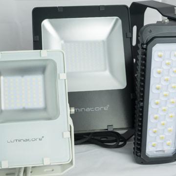 Luminatore-LED-Flutlicht-Strahler-Varianten