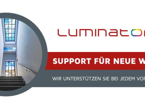 Support für neue Wege. Wir unterstützen Sie bei jedem Vorhaben.