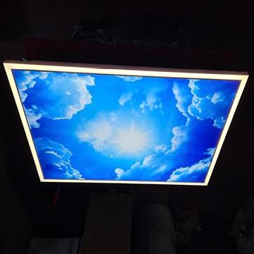 Praxisbeleuchtung: Medical-Light, Schaltoption dekoratives Licht ein, Arbeitsplatzleuchte ein