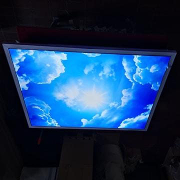 Praxisbeleuchtung: Medical-Light, Schaltoption dekoratives Licht ein, Arbeitsplatzleuchte aus